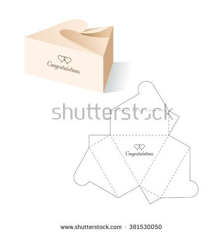 Retail box with blueprint template stock vector box 2 retail box with blueprint template stock vector malvernweather Images