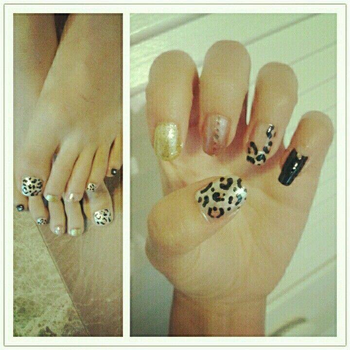 matching nails and toes!   Nails   Pinterest