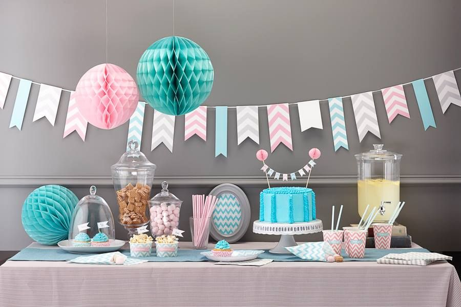 Honeycomb Ball Decoration Candy Table  Baby 1 Year  Pinterest  Candy Table