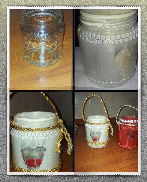 Vasetti porta candela #faidate