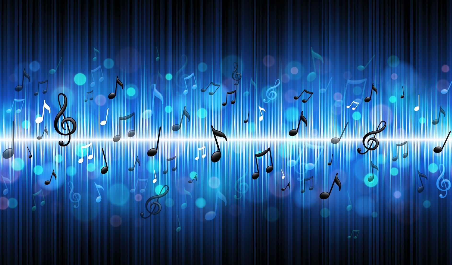 Rubens Tube With Many Different Songs Music Wallpaper Music Notes Background Music Notes