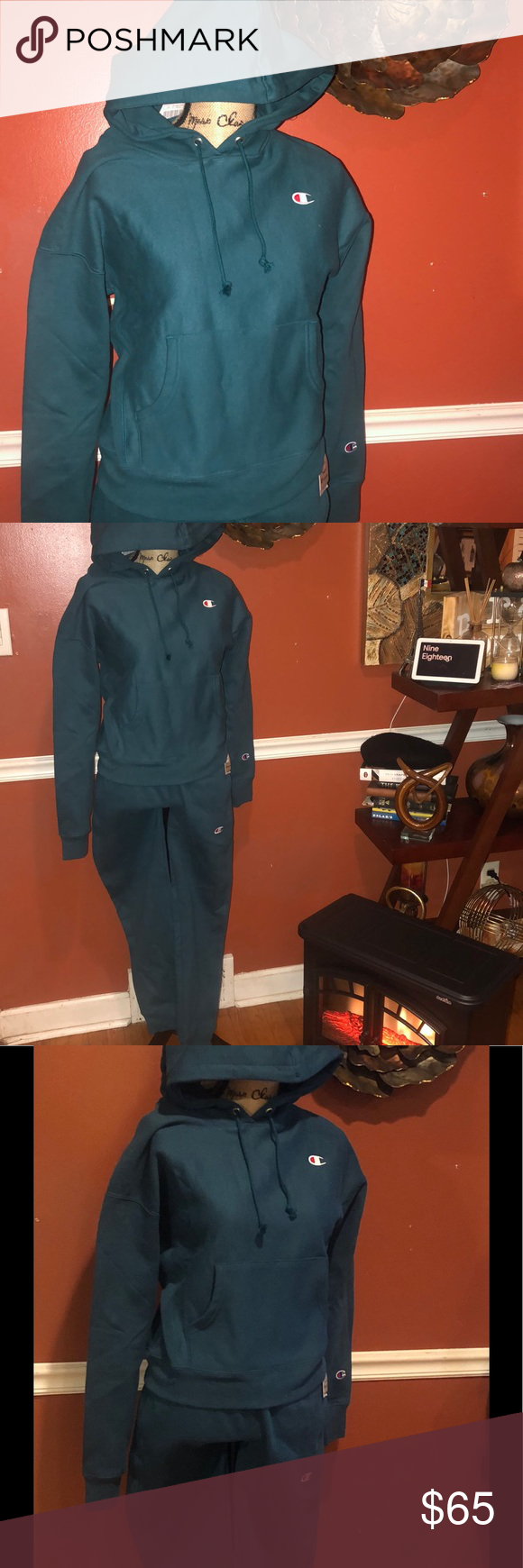 Sold Sold Sold Bnwt Champion Sweatsuit Champion Sweatsuit Sweatsuit Sweatshirt Tops [ 1740 x 580 Pixel ]