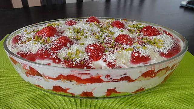 Erdbeer Tiramisu #löffelbiskuitrezept