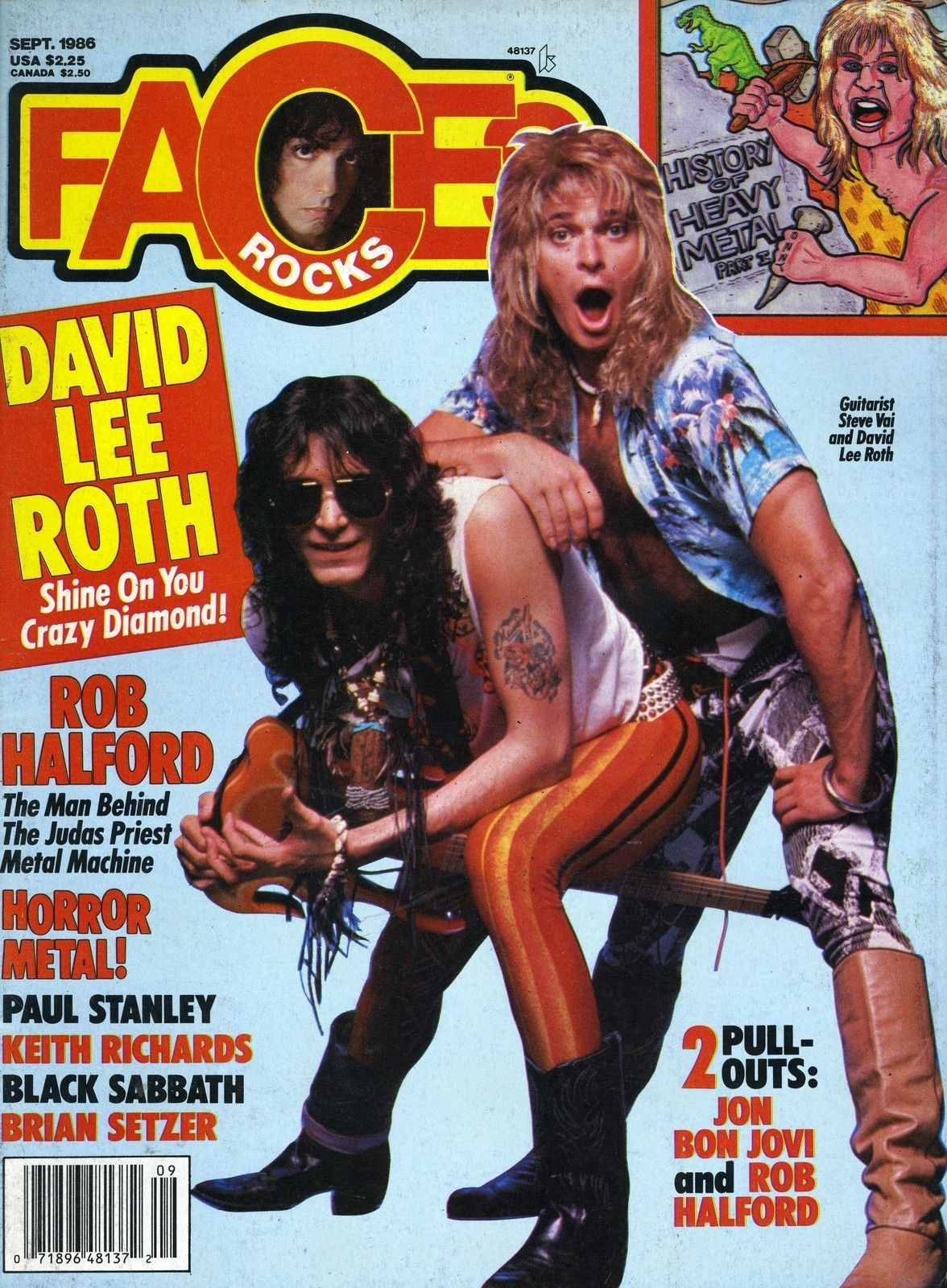 Pin By Sum Guy On Diamond Dave S Best Years David Lee Roth Steve Vai Keith Richards