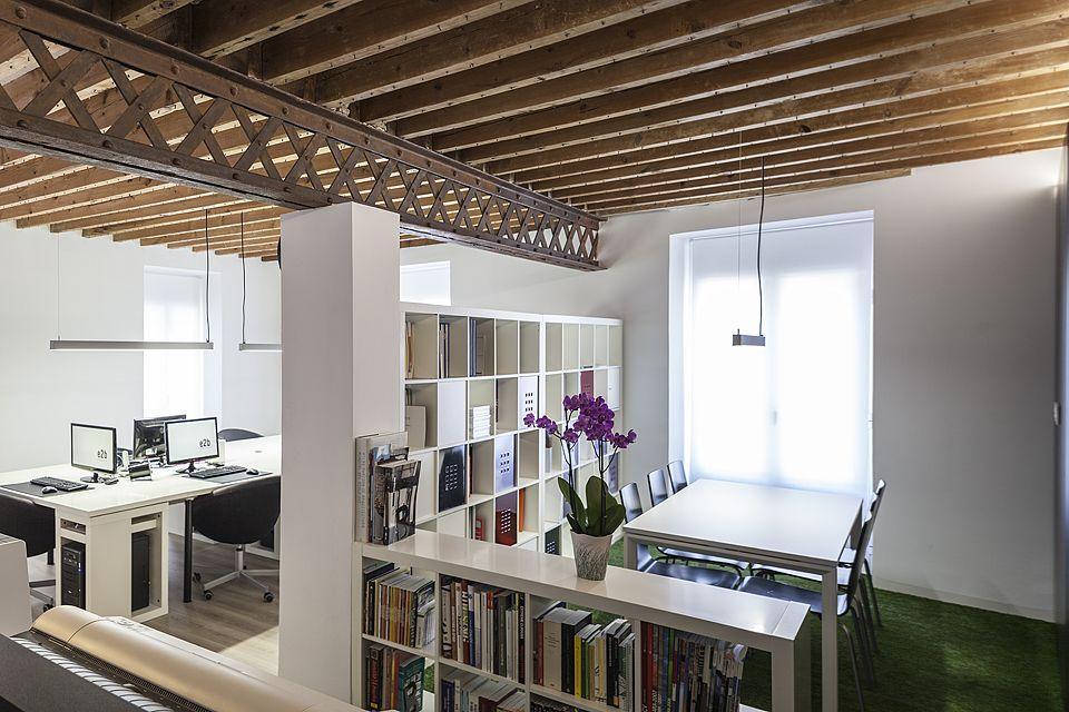 Reforma integral oficina estudio arquitectura alicante e2b - Estudios de arquitectura coruna ...
