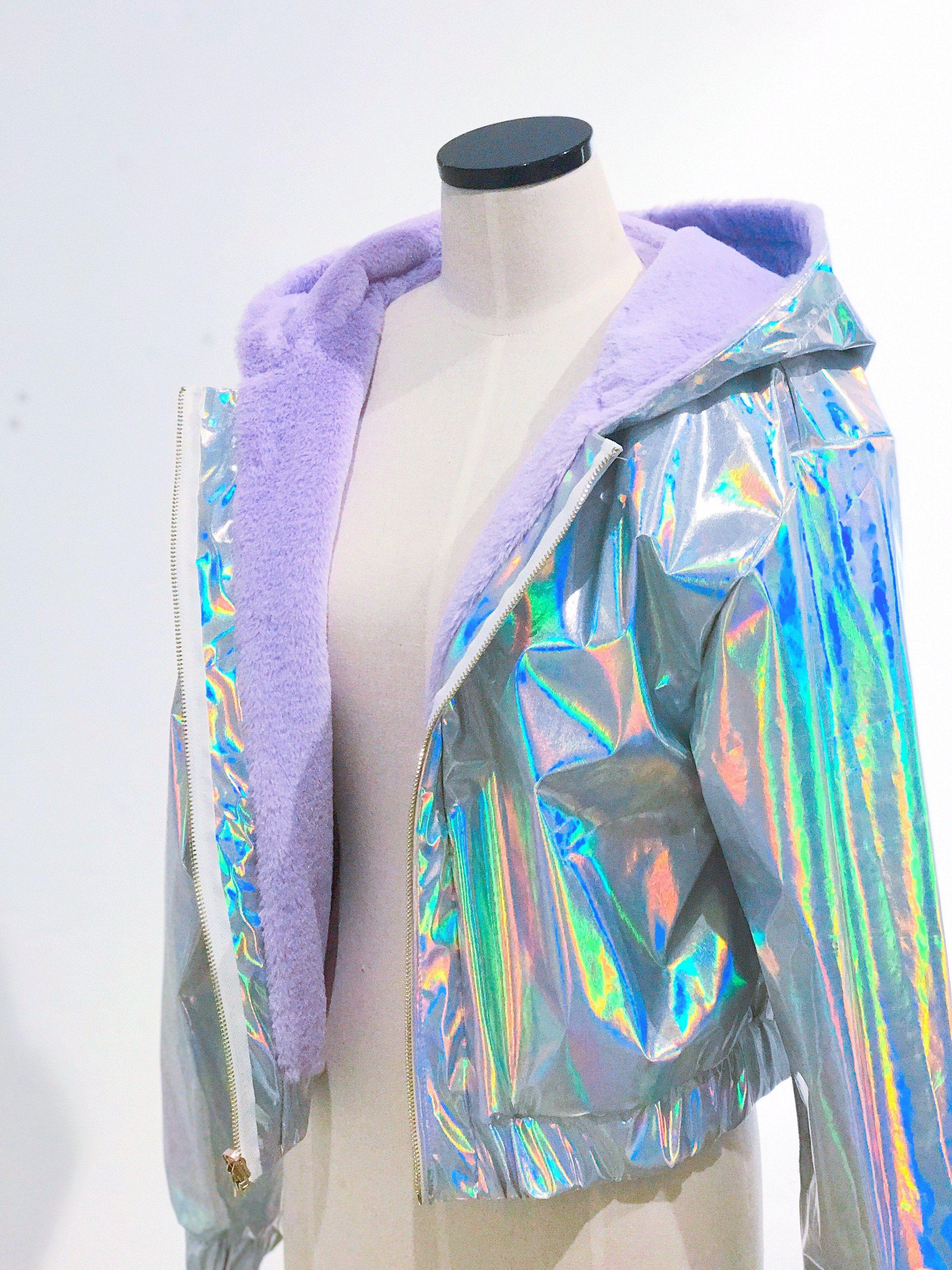 3375395a1cf Double-sided jacket Holographic Jacket