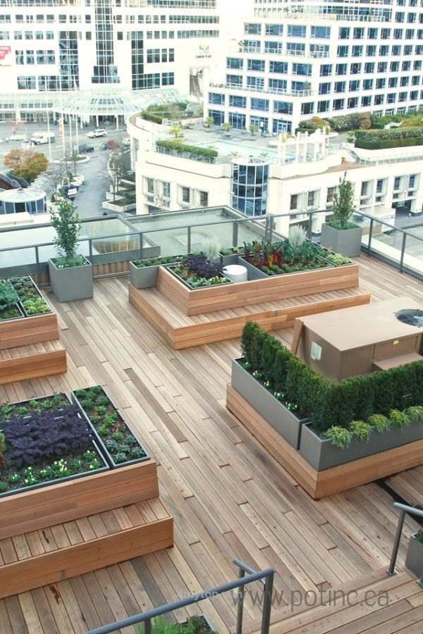The Vancouver Club rooftop garden http://www.4mytop.win ...