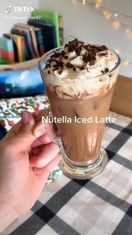 Nutella Iced Latte