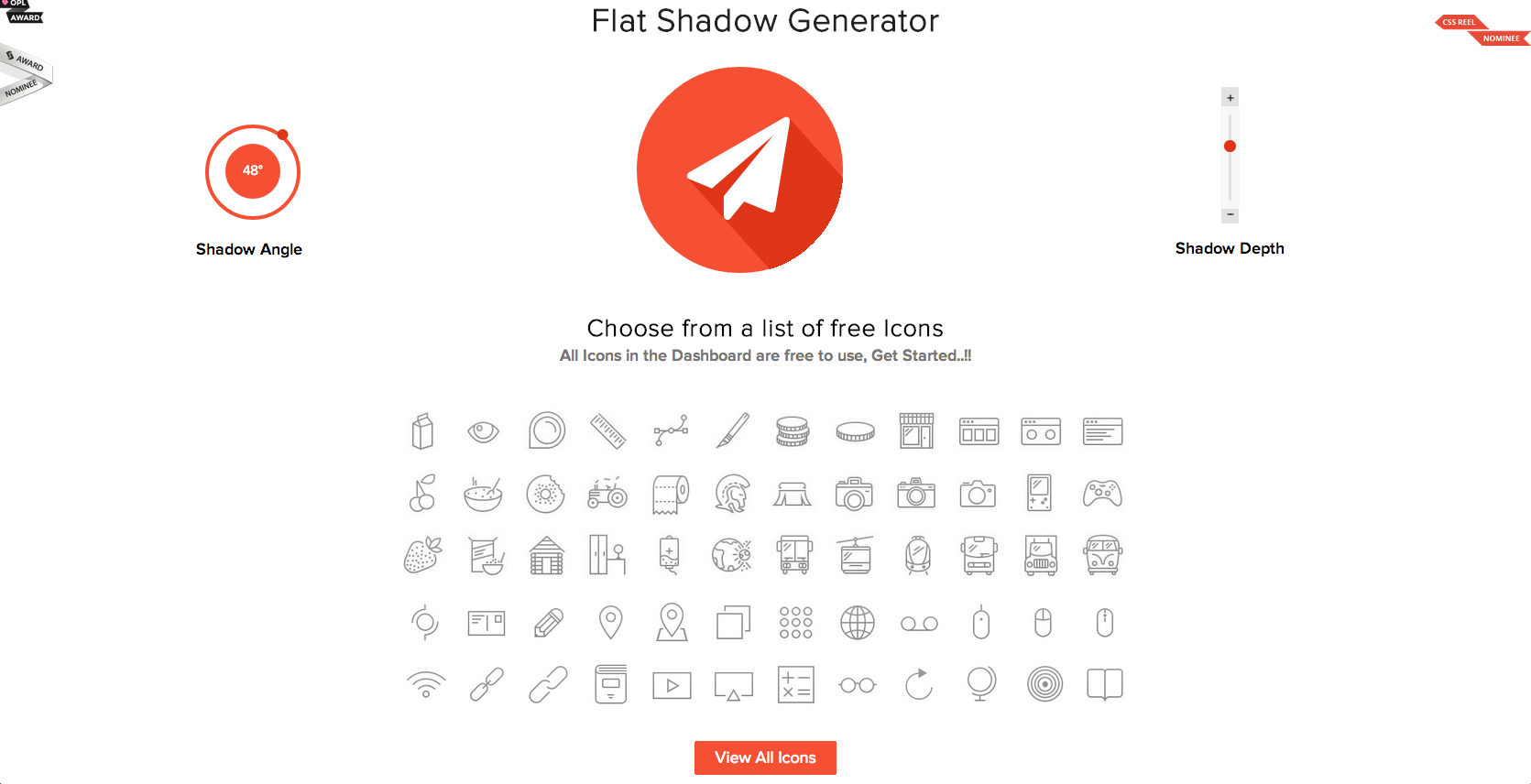 flat shadow generator http flattyshadow com design free