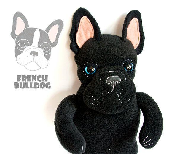 French Bulldog Boris Soft Art Toy By Entala On Etsy Zl119 00