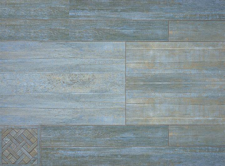 Barrique Series Blue 4x24 8x24 4x40 8x40 Wood Plank