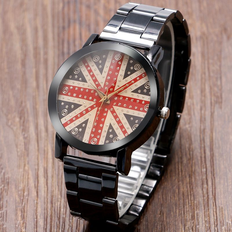 Click to Buy << KEVIN New Fashion Kevin British Flag UK flag Wrist ...