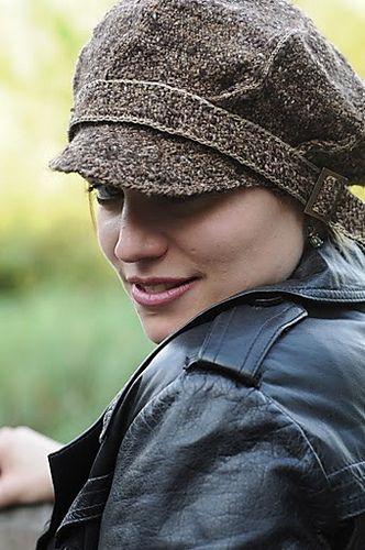 Newsboy - Muetze/beret pattern by Sylvie Rasch | Pinterest | Stricken