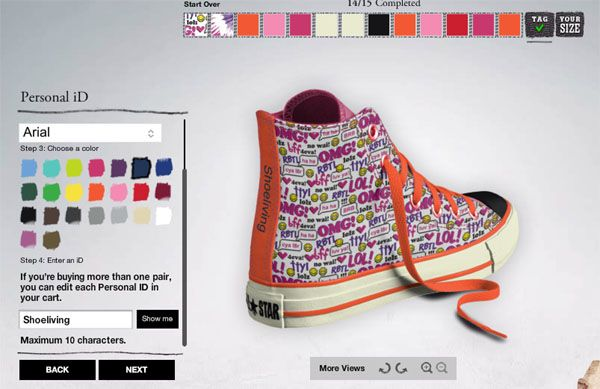 Poner su Prescribir  Pin on Design Your Own Converse