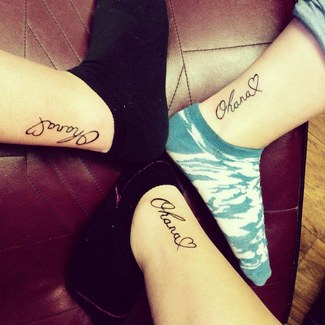 235e2e9bb Matching cousin tattoos - Ohana❤ | Tattoos•Piercings | Matching ...