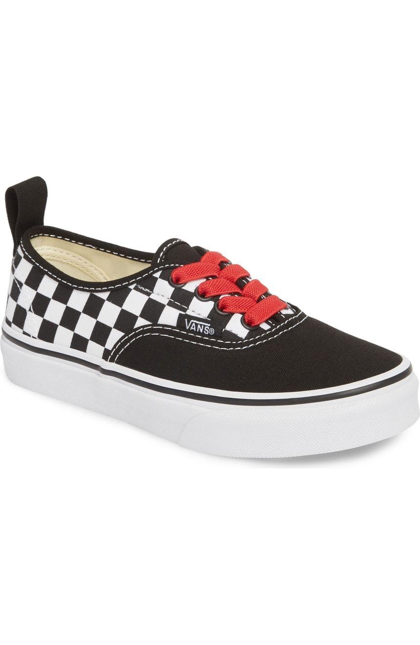9cc9a6bd56 Vans Authentic Elastic Lace Sneaker (Baby