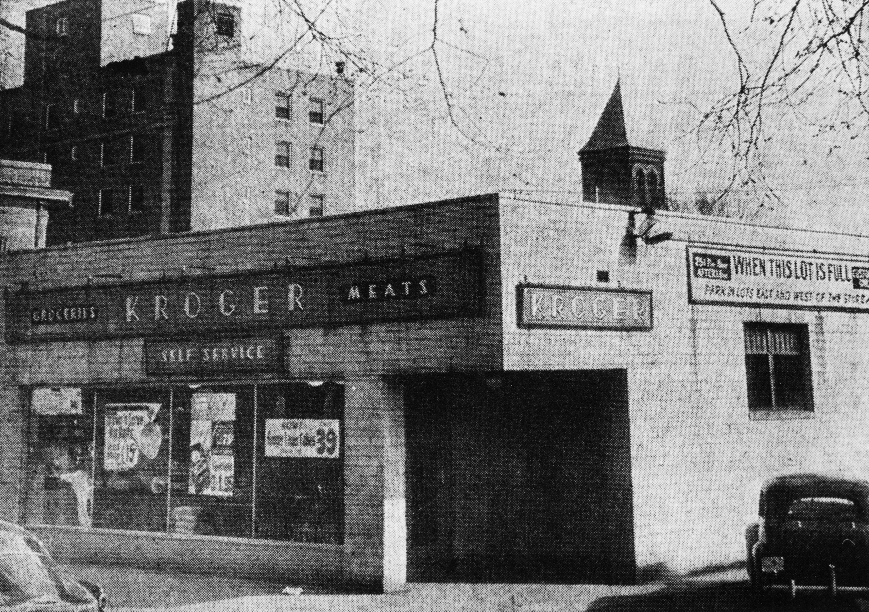 Kroger Fairfield Ohio >> Kroger Back When It Was On Wheeling Behind The Hotel
