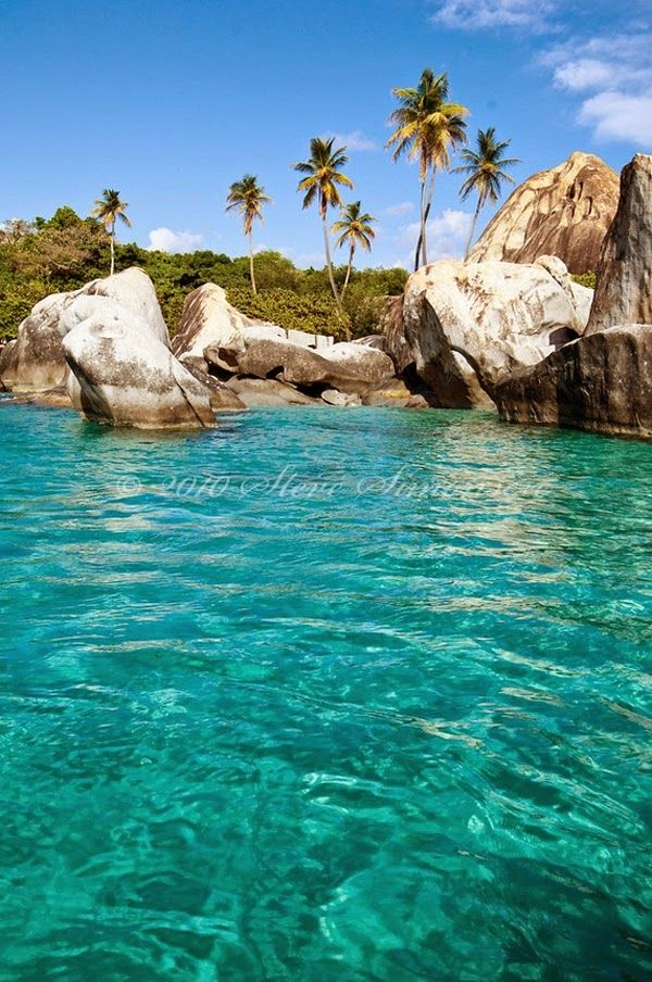 The Baths in Virgin Gorda Island of British Virgin Islands, Caribbean