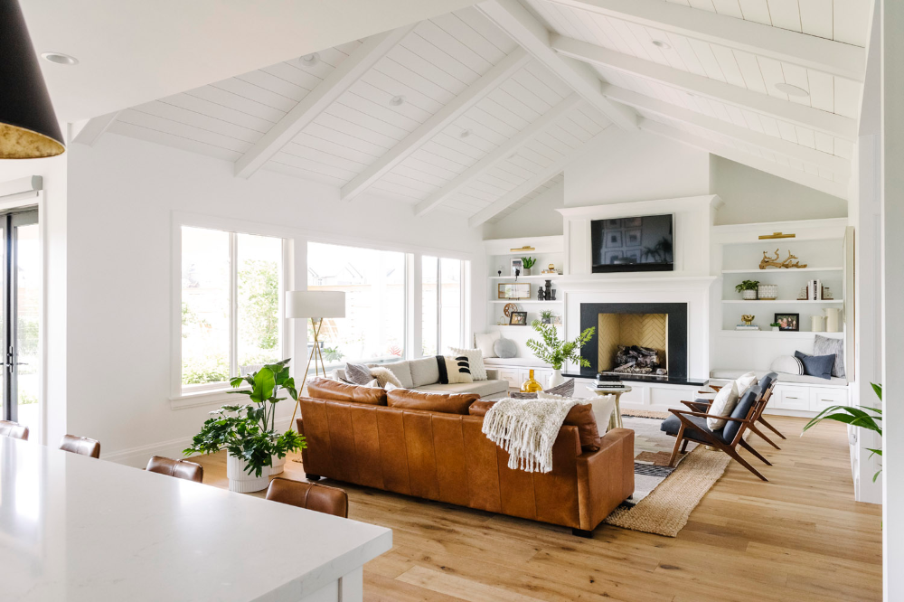 Download These Video Conference Backgrounds Will Let You Dial In From Your Dream Home Front Main In 2020 Farm House Living Room Home Modern Farmhouse Living Room