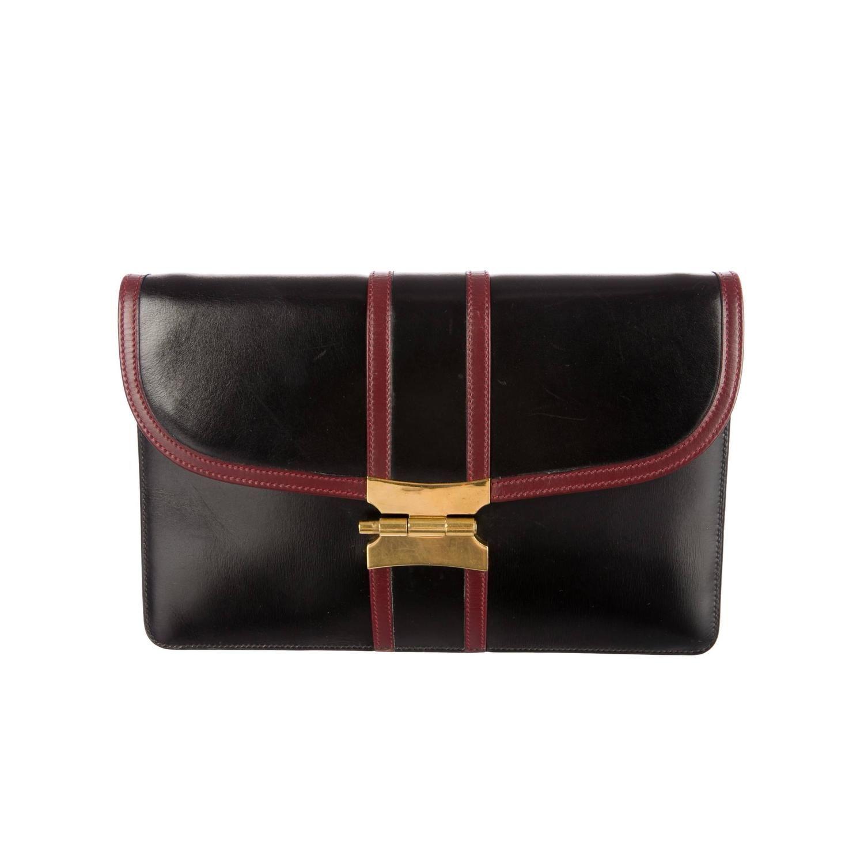 Magasin De Liquidation Hermès Hermès Cru Embrayage De Soirée Rouge Clairance Nicekicks 1hr5Cmx