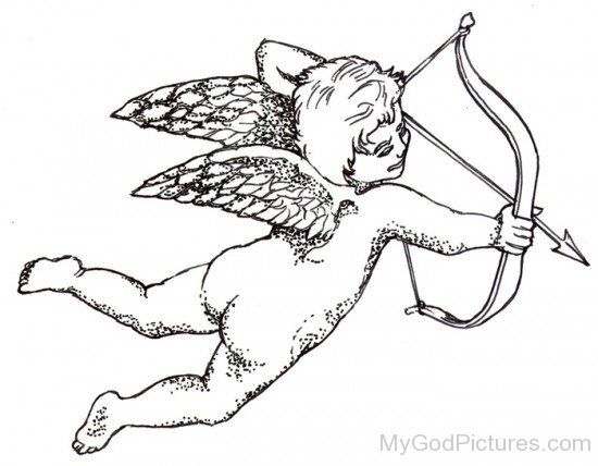 Image result for cupid drawing