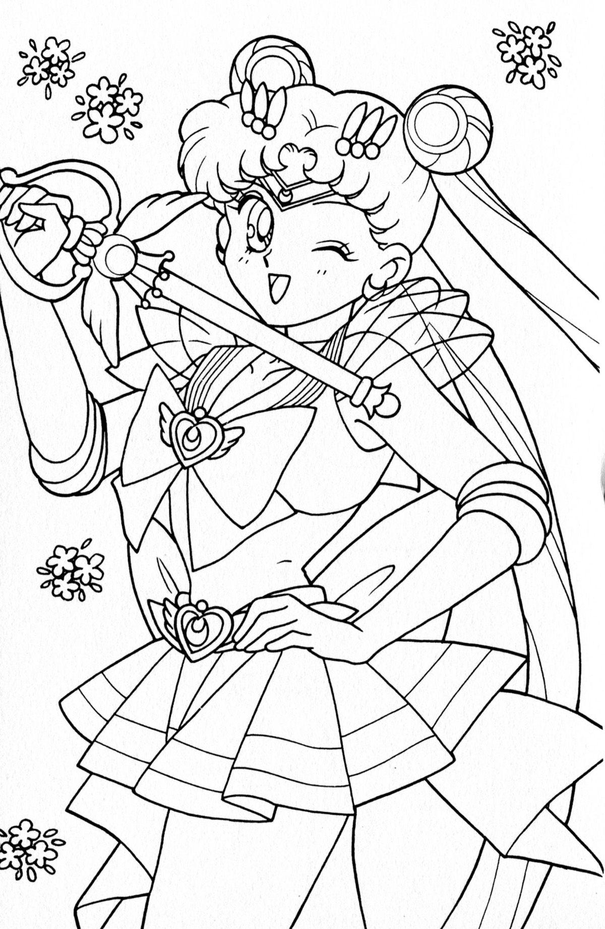 silvermoon424 - Single User Dash | LineArt: Sailor Moon | Pinterest ...