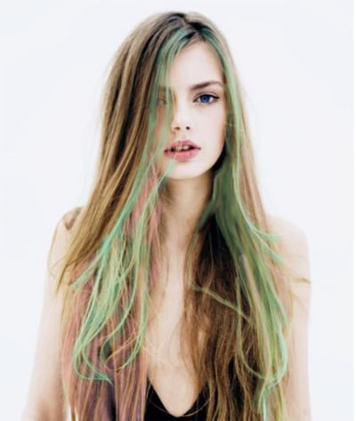 Seafoam Streaks Hair Beauty Beautiful Hair Long Hair Styles
