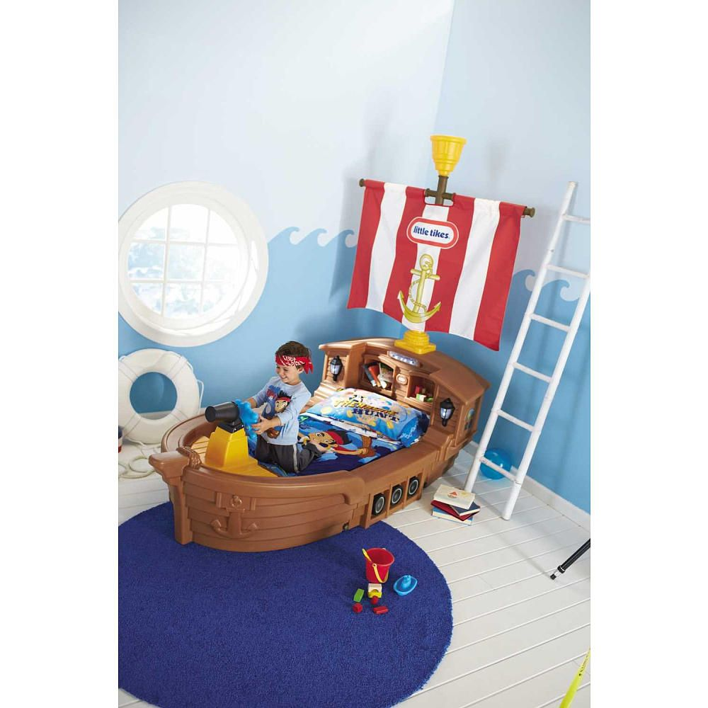 Pirate Ship Toddler Bed.Little Tikes Pirate Ship Toddler Bed Little Tikes Toys