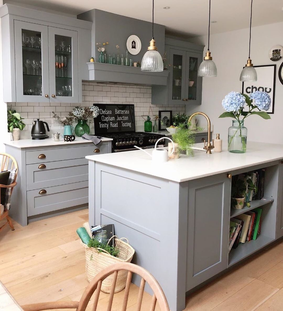 House Beautiful Uk On Instagram This Grey Kitchen From Fallowgrey Is Light Open Plan Kitchen Living Room Open Plan Kitchen Dining Living Kitchen Extension