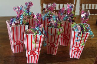 14 Goodie Bags With A Twist Today S Parent Movie Birthday Party Birthday Goodie Bags Movie Party Favors