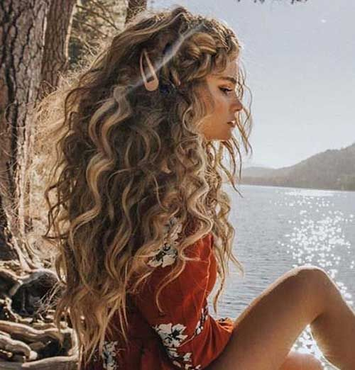 Best Long Curly Hairstyles for Women 2019