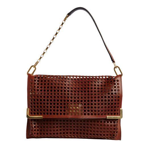 Chloé  Perforated Medium Sennen Bag