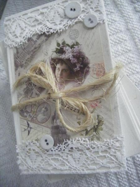 Nostalgie Deko-Bücherpaket Jeanne D` Arc Living von Romantischer Winkel auf DaWanda.com
