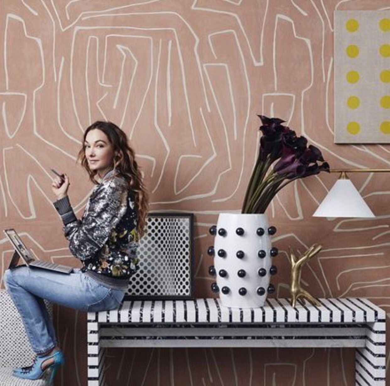 Kelly Wearstler | Kelly wearstler wallpaper, Kelly ...