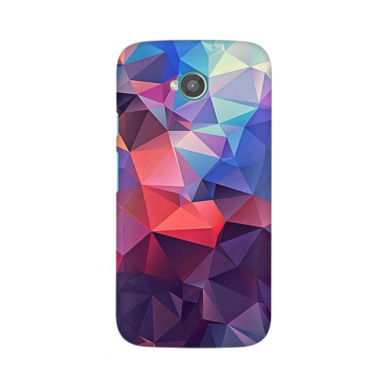 Abstract Fusion Triangle Phone Case For Moto E2 (With