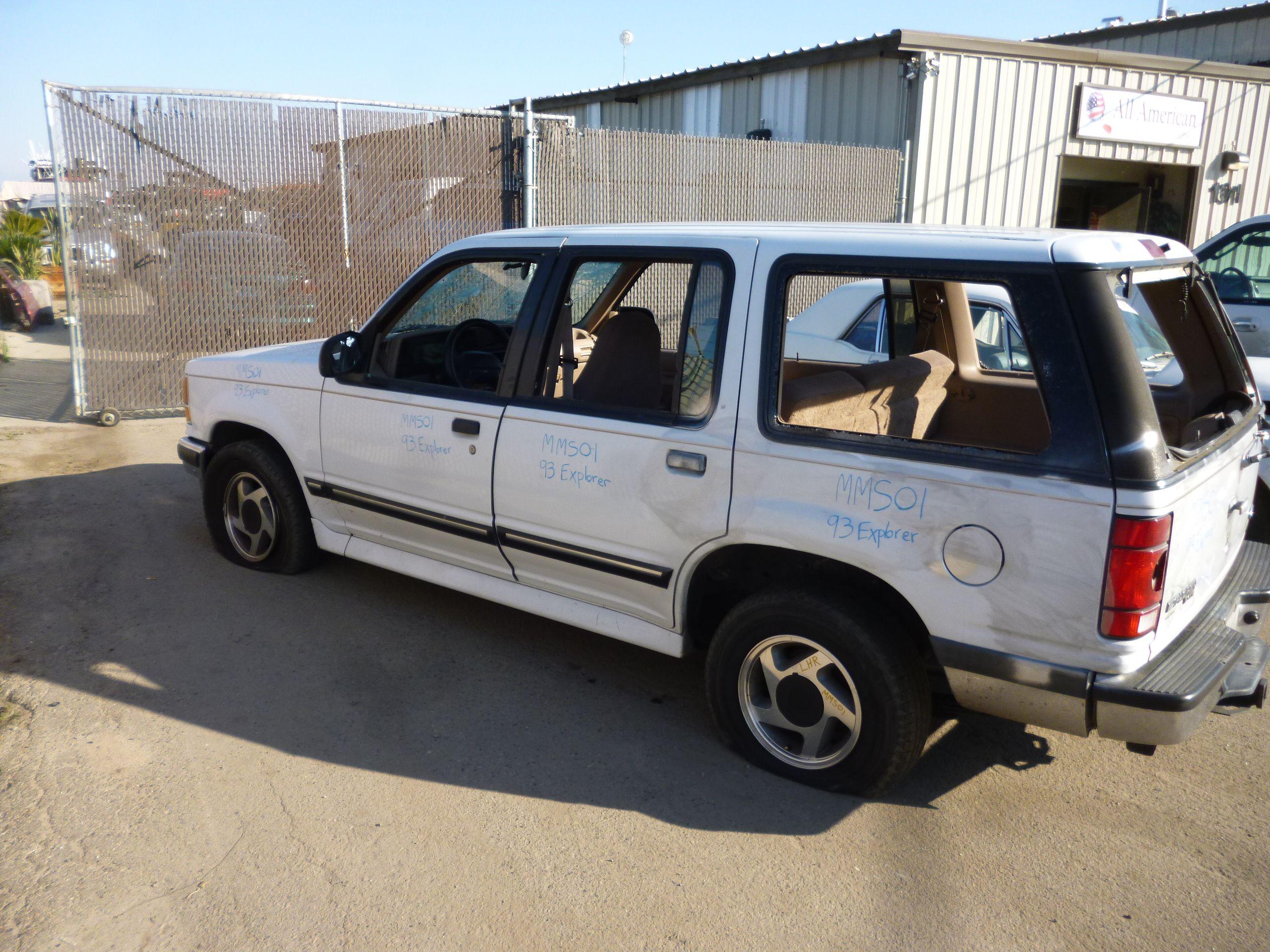 1993 Ford Explorer Xlt 4 Dr 2wd 4 0l 76k Miles Ball Joint Brake