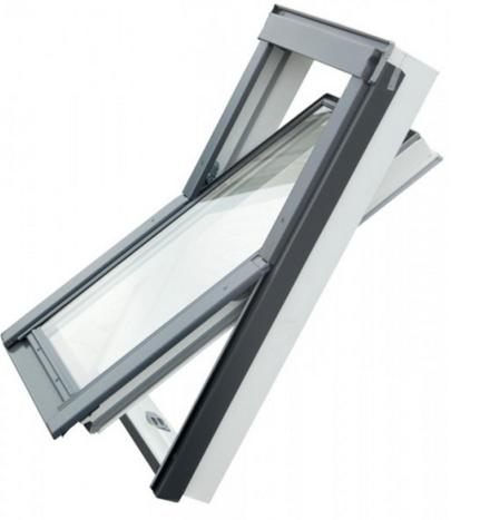 Velux Dachfenster Ersatzteile Der Rahmen Fur Die Dachluke Ist Montagefreundlich Extrem Popular Fenster Auf Dem Dach Des Hauses Roof Window Roof Double Glazing