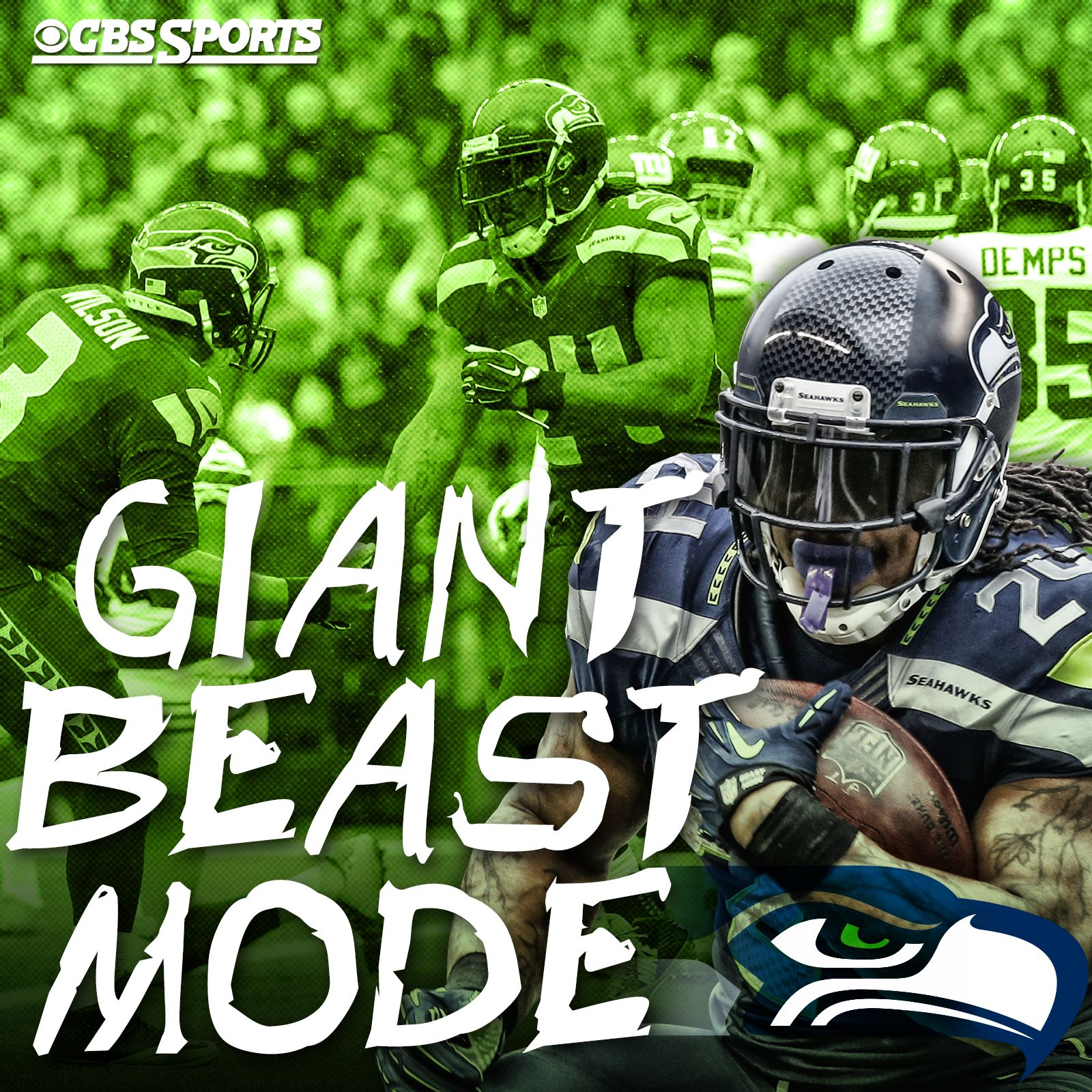 You can't stop The Beast! Cbs sports, Football love, Nfl