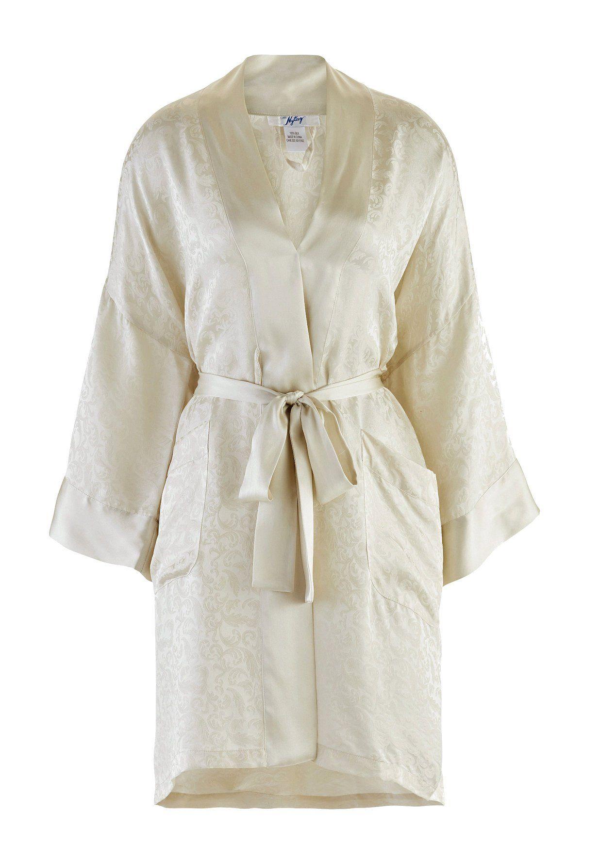 d055c4052f Nyteez Classic Silk Robe   Kimono Short