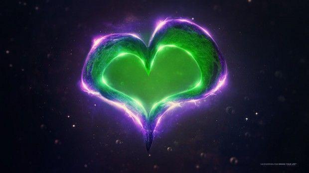 Amazing 3d Digital Art By Magyar Laƒa Szlaƒa With Images Heart Wallpaper Hd Love Heart Images Heart Wallpaper