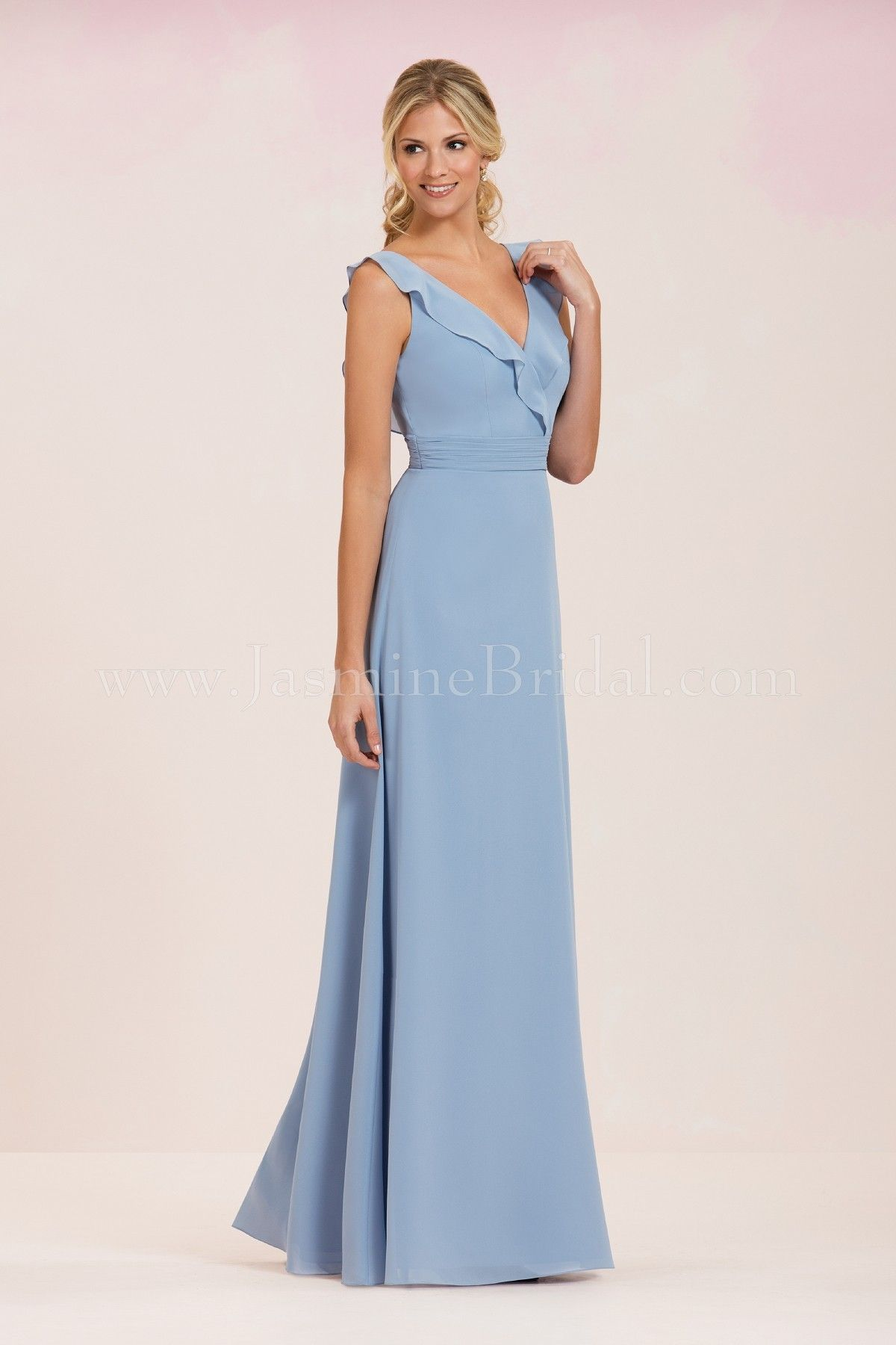 Jasmine bridal bridesmaid dress jasmine bridesmaids style p186053 in jasmine bridal bridesmaid dress jasmine bridesmaids style p186053 in cornflower ombrellifo Images