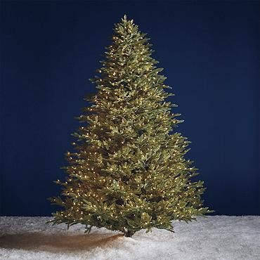 Grand Fraser Fir Inversion Artificial Christmas Tree | Christmas ...