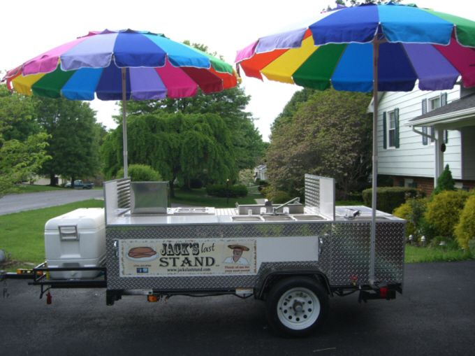 Custom Home Made Hot Dog Cart With Images Hot Dog Cart Hot