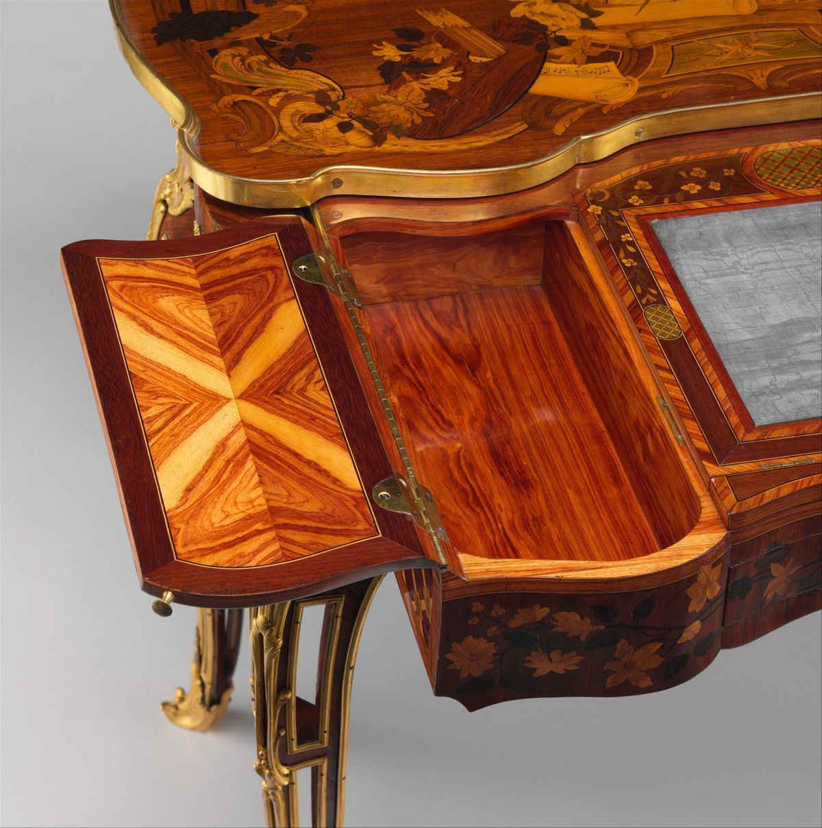 Best Mechanical Table Jean François Oeben French Born 400 x 300