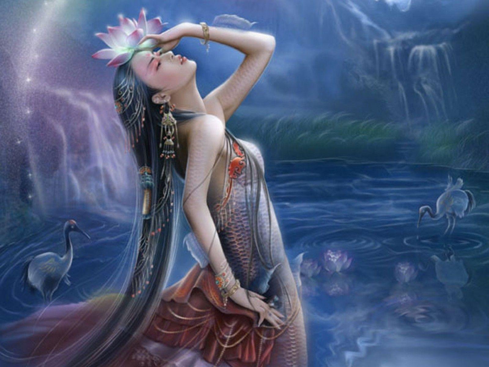 Women fantasy art mythical wallpaper | 1600x1200 | 61315 ...