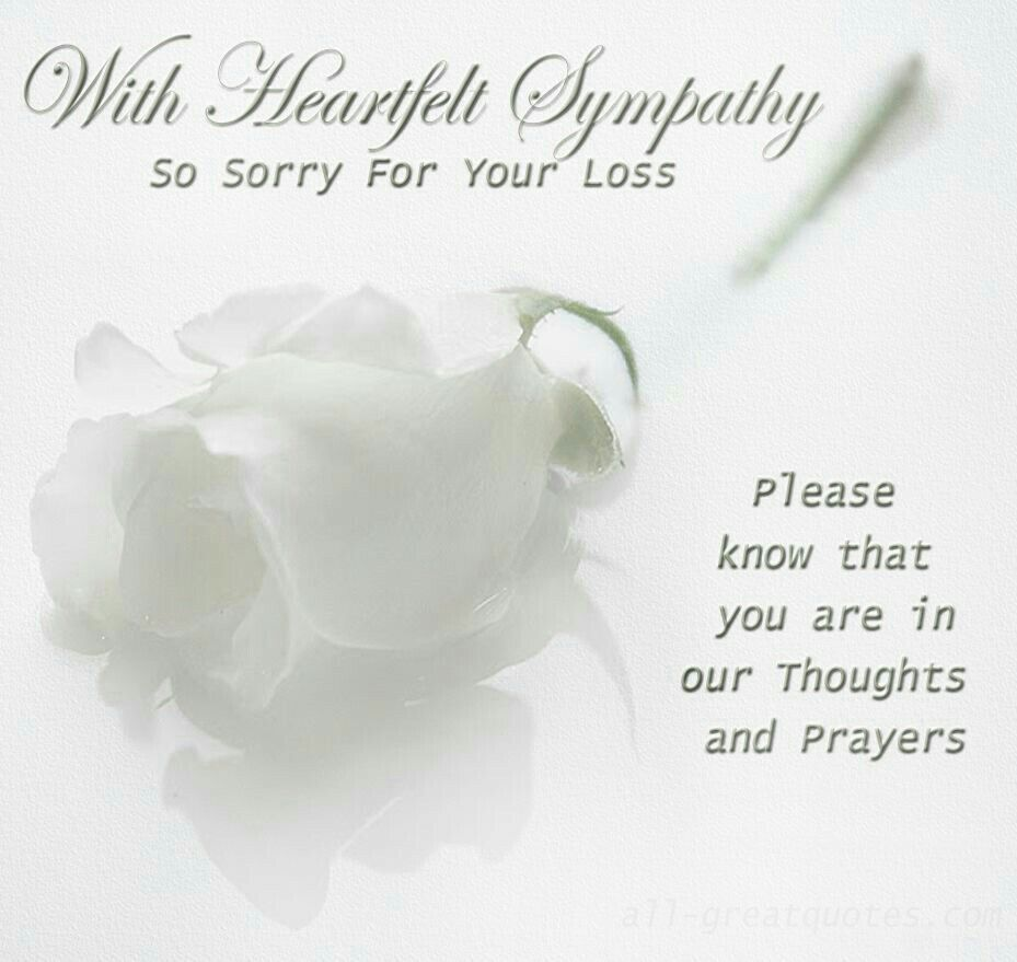 Pin By Karina Rizzo Castillo On My Condolences Greetings Pinterest