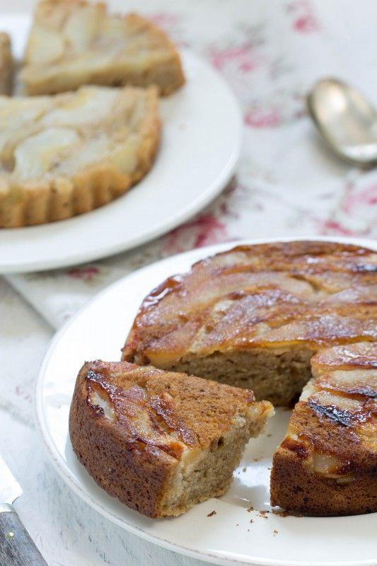 Gâteau Renversé aux Poires  avec ou sans gluten   recette  végétal ... 9da29faf0d75