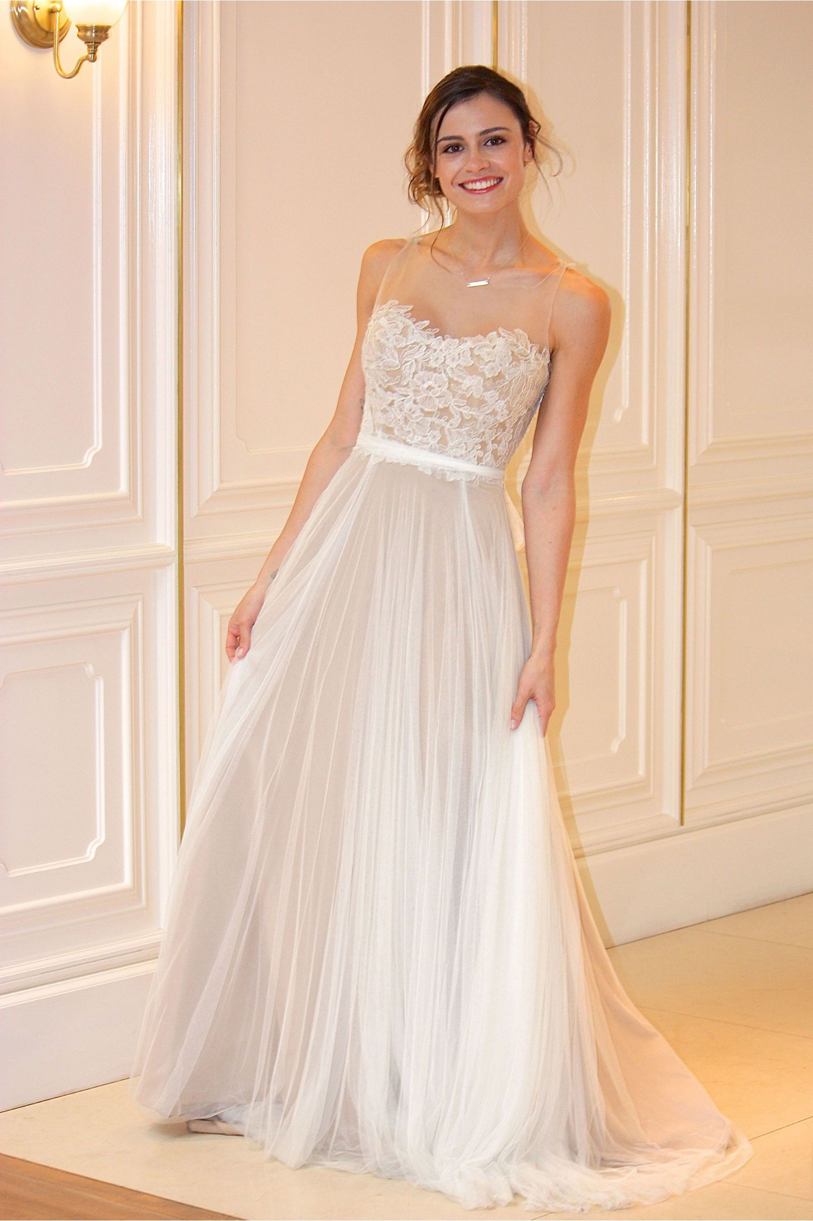 52ecad05ad6 Penelope Gown in Bride Wedding Dresses at BHLDN