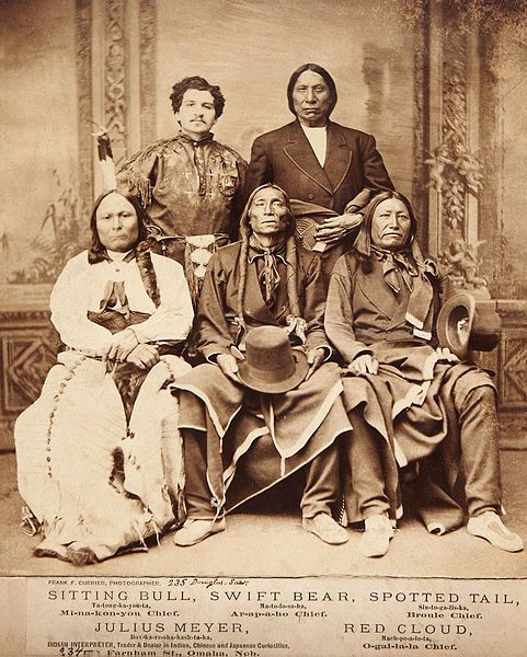 Famous Indian Chiefs | Home town Oklahoma | Oglala sioux, Native