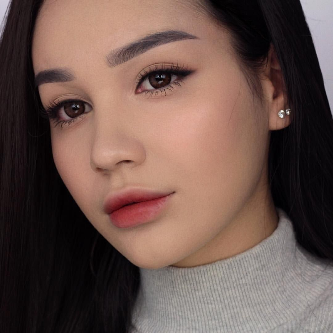 Korean Inspired Makeup Look 메이크업 This Has Been Requested A Couple Of Times So I Hope You Like It It W Korean Eye Makeup Korean Makeup Tips Asian Makeup Looks
